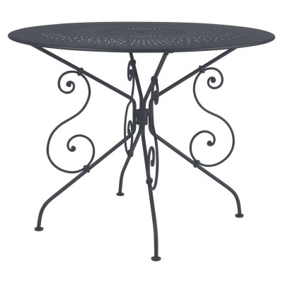 1900 Table 96cm - Anthracite