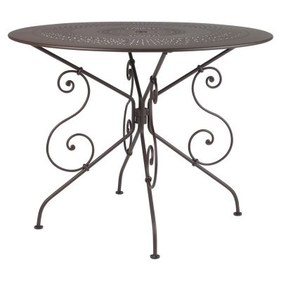 1900 Table 96cm - Russet