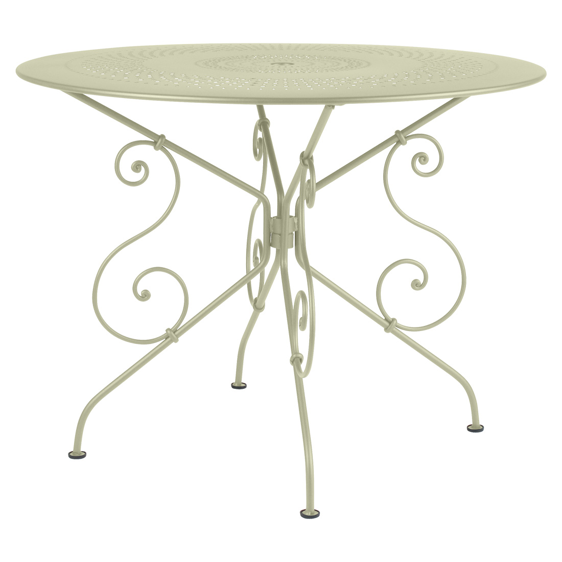 1900 Table 96cm - Willow Green