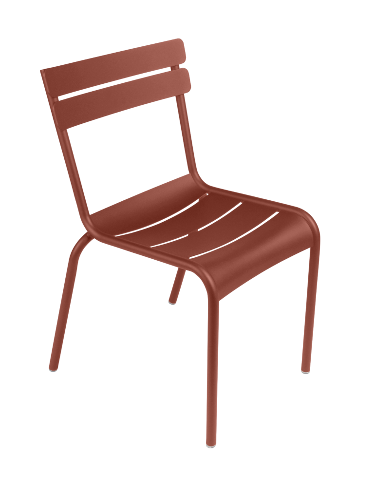Luxembourg Chair Red Ochre
