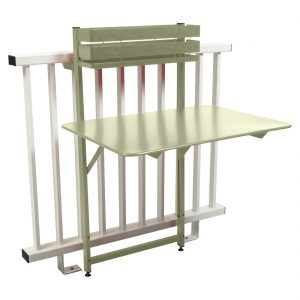 Bistro Balcony Table - Willow Green