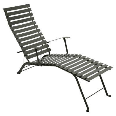 Bistro Metal Chaise Lounge - Rosemary