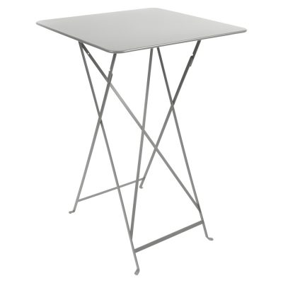 Bistro High Table - Steel Grey