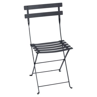 Bistro Metal Chair - Anthracite
