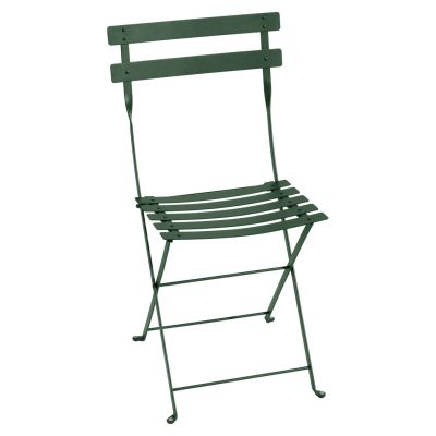 Bistro Metal Chair - Cedar Green