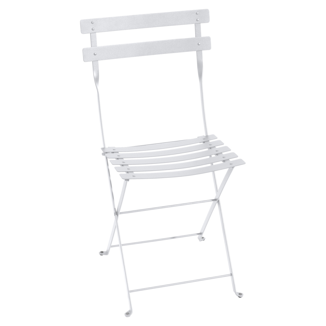 Bistro Metal Chair - Cotton White