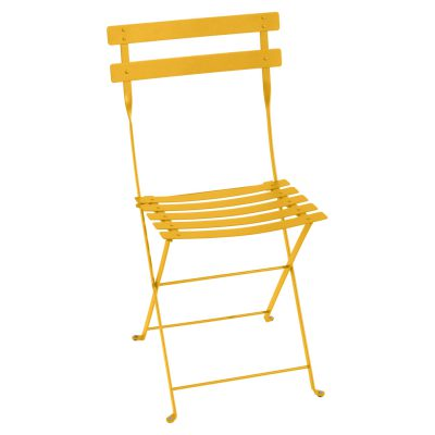 Bistro Metal Chair - Honey