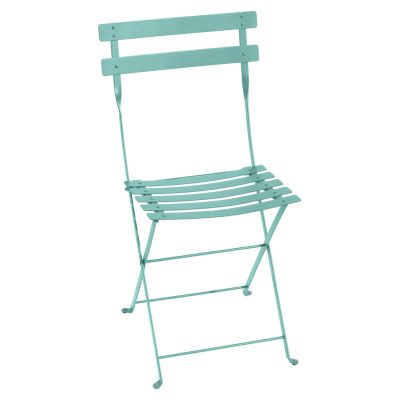 Bistro Metal Chair - Lagoon Blue