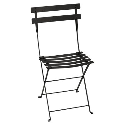 Bistro Metal Chair - Liquorice