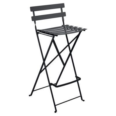 Bistro Metal High Chair - Anthracite