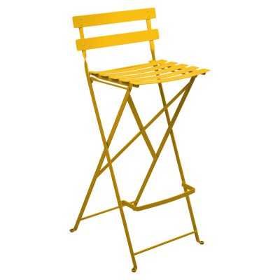 Bistro Metal High Chair - Honey