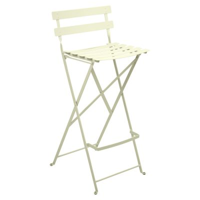 Bistro Metal High Chair - Willow Green