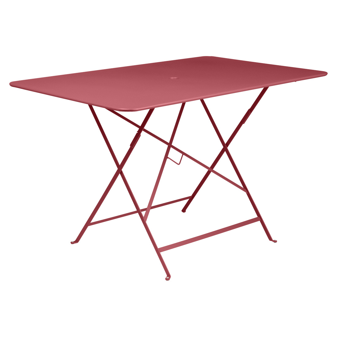Bistro Rectangular Table 117cm - Chili