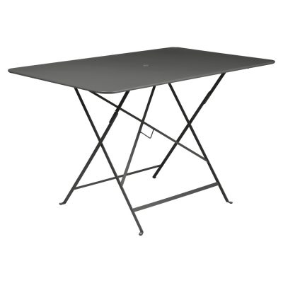 Bistro Rectangular Table 117cm - Liquorice