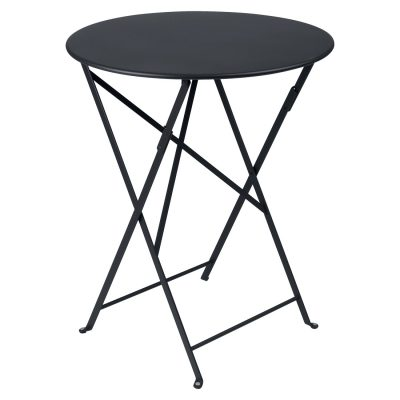 Bistro Round Table 60cm - Anthracite