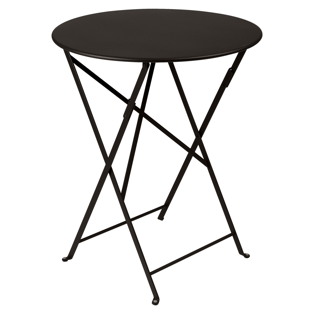 Bistro Round Table 60cm - Liquorice