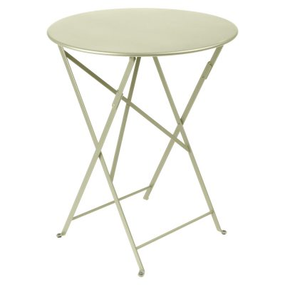 Bistro Round Table 60cm - Willow Green