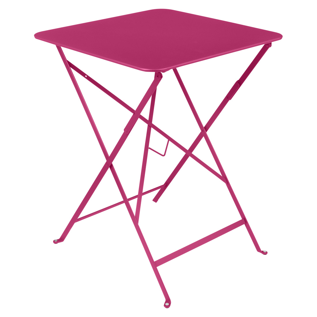 Bistro Square Table 57cm - Fuchsia