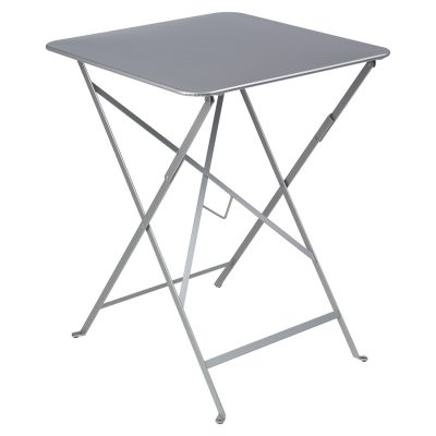 Bistro Square Table 57cm - Steel Grey