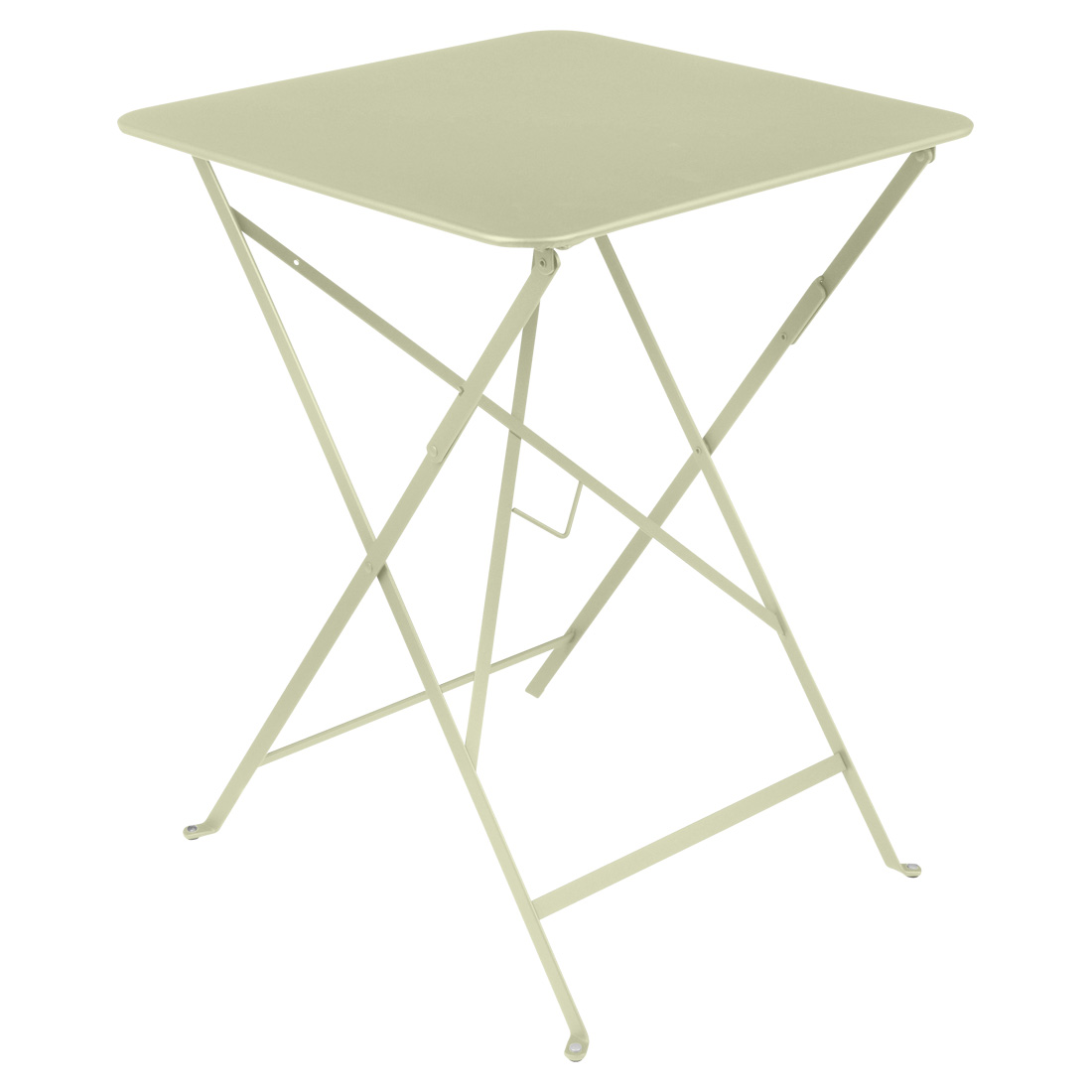 Bistro Square Table 57cm - Willow Green