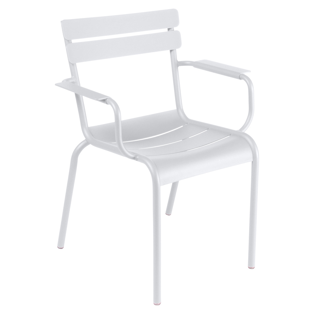Luxembourg Armchair Cotton White