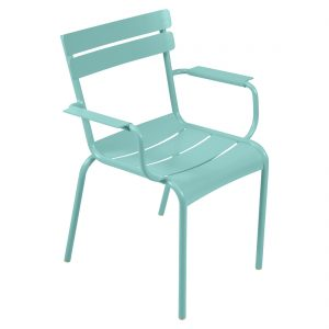 Luxembourg Armchair Lagoon Blue