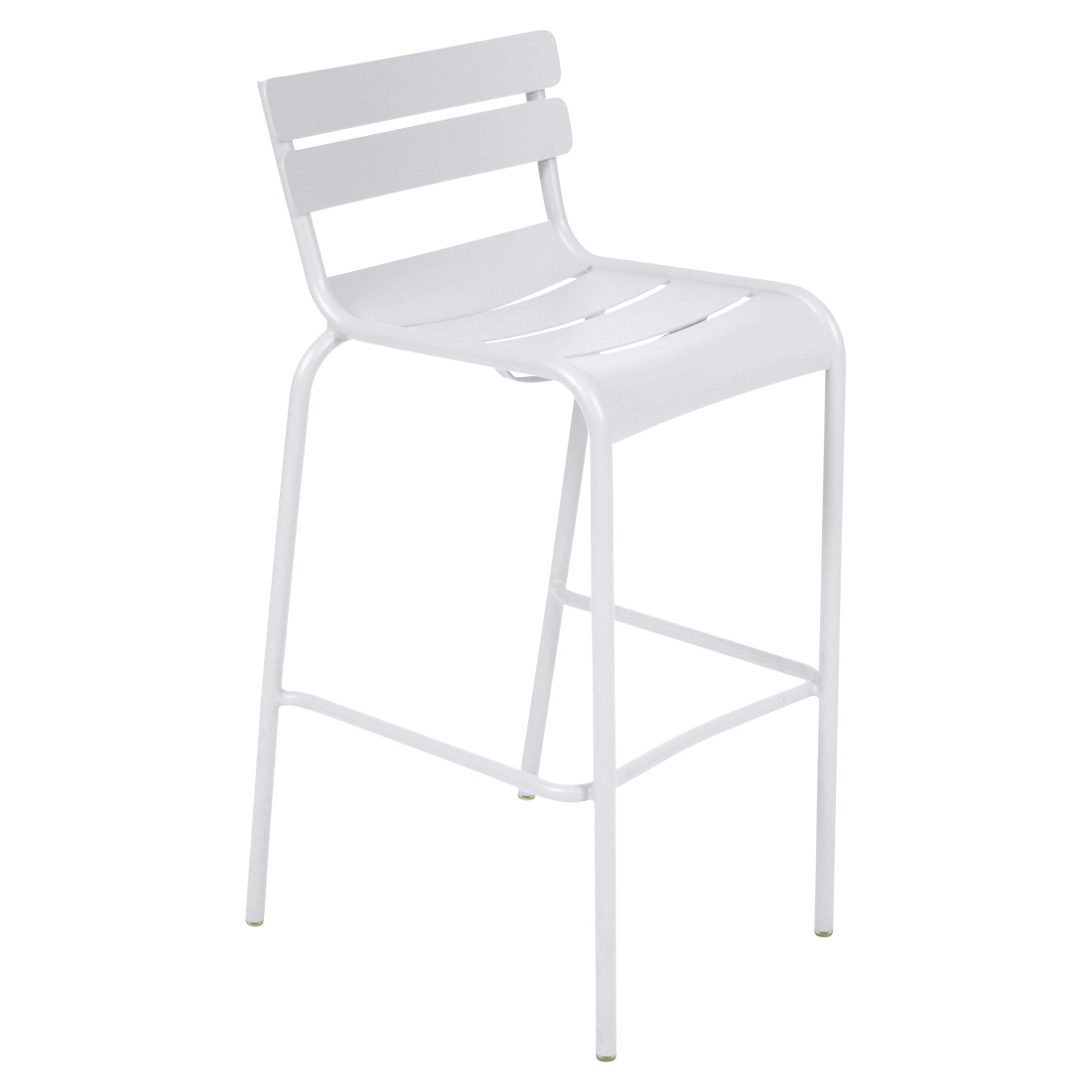 Luxembourg High Stool Cotton White