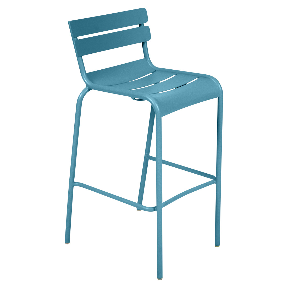 Luxembourg High Stool Turquoise