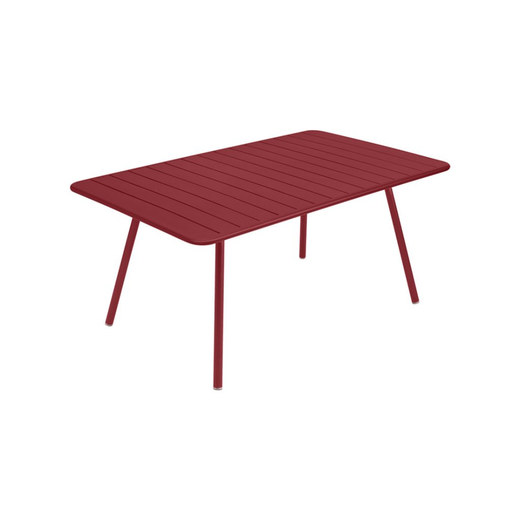 Luxembourg Table 165cm Chili