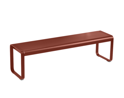 Bellevie Bench Red Ochre