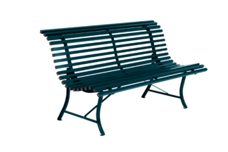 Fermob Louisiane 150cm Bench Acapulco Blue