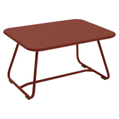 Sixties Table Red Ochre