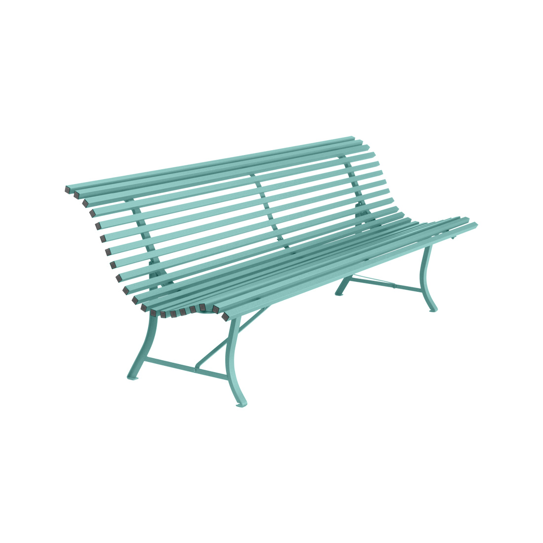Louisiane Bench Lagoon Blue