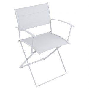 Plein Air Armchair Cotton White