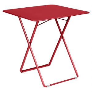 Plein Air Table Poppy