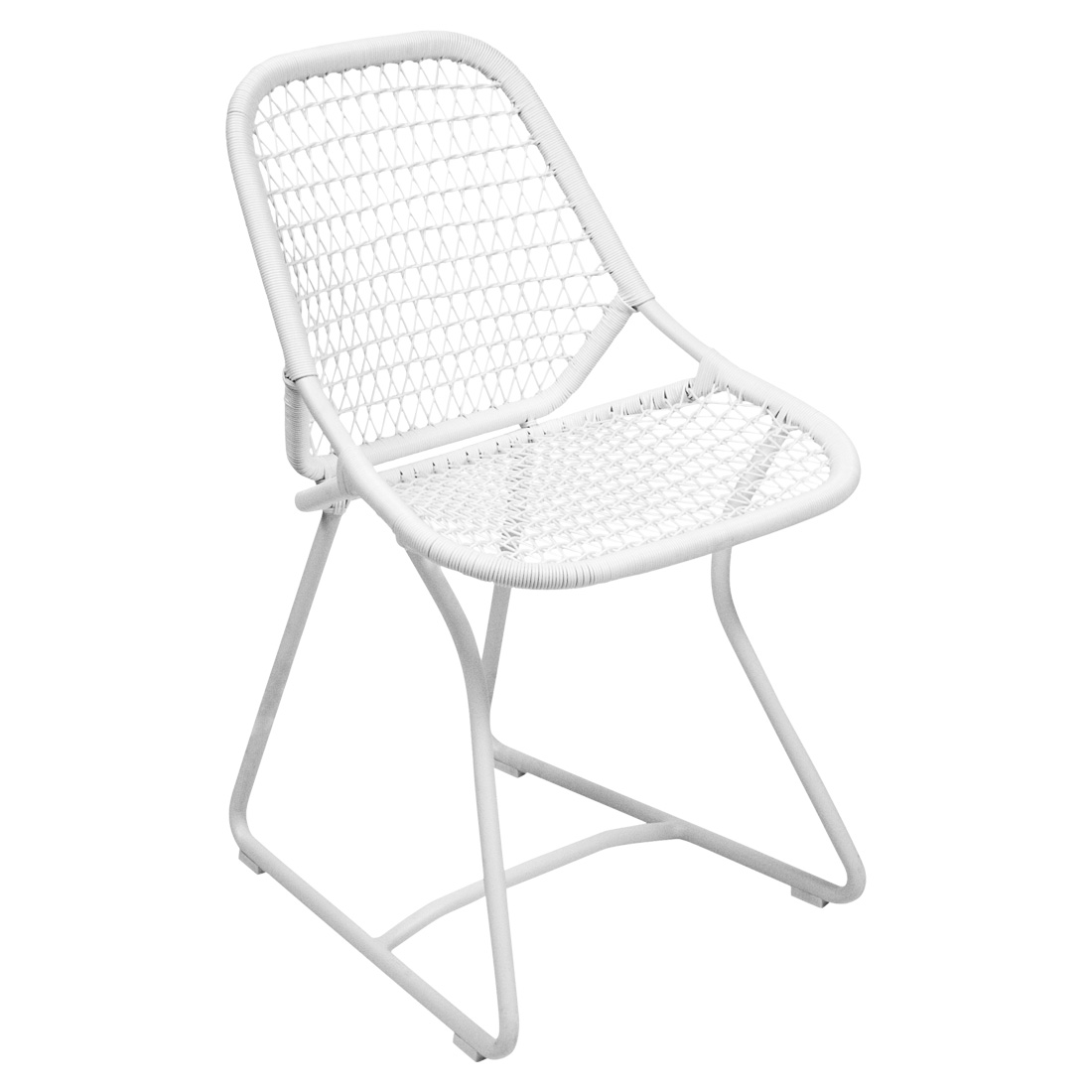 Sixties Chair Cotton White