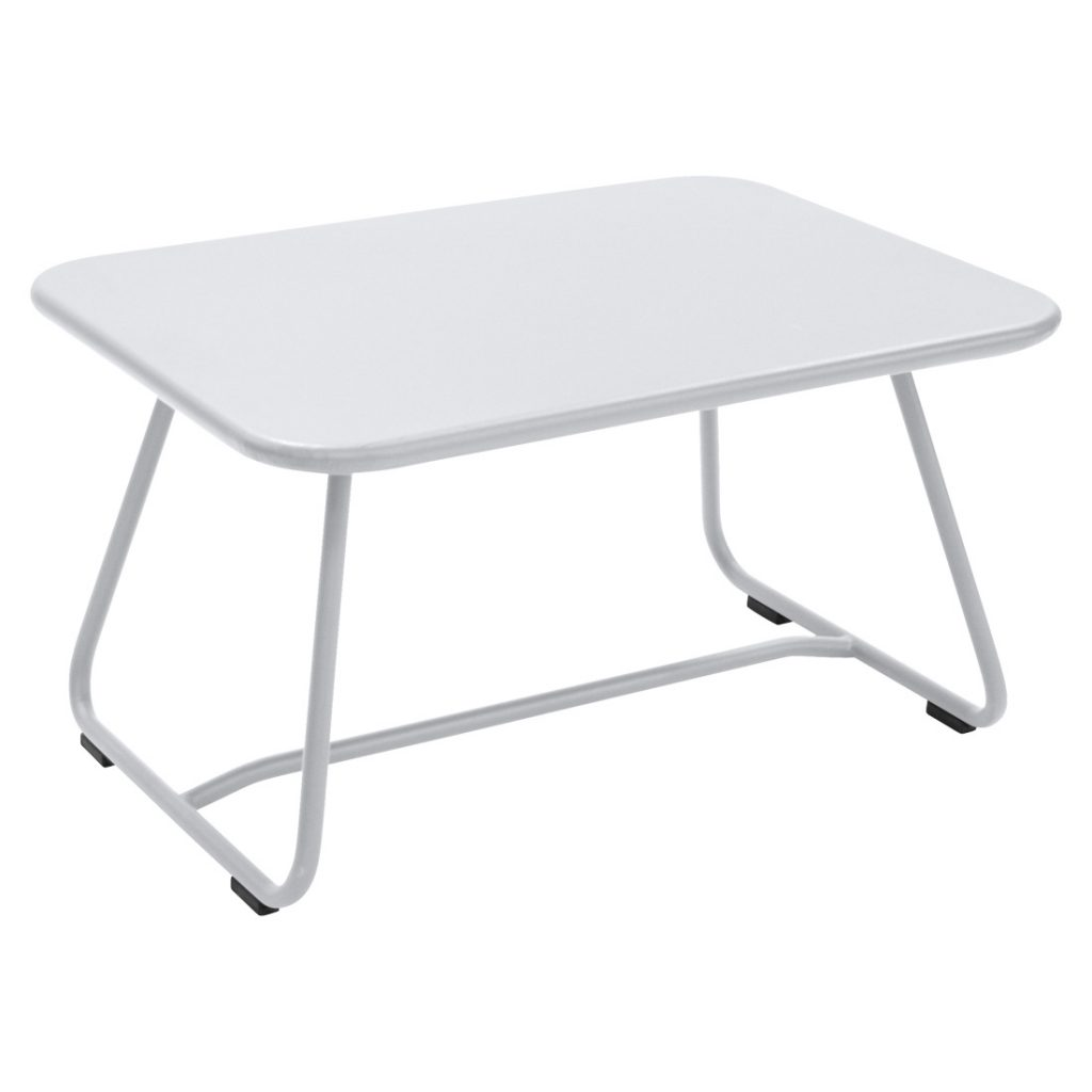 Sixties Low Table Cotton White