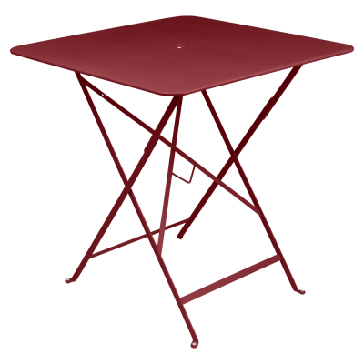 Bistro Square Table 71x71cm Chili