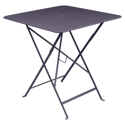 Bistro Square Table 71x71cm Plum