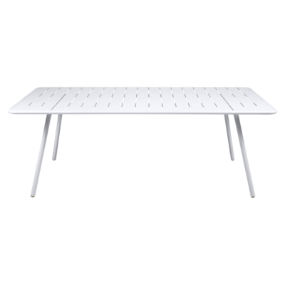 Fermob Luxembourg 207cm Table Cotton White
