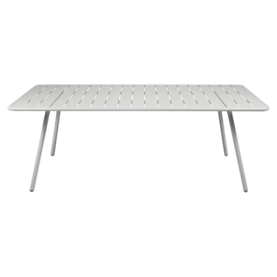 Fermob Luxembourg 207cm Table Steel Grey