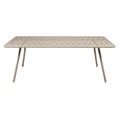 Fermob Luxembourg 207cm Table Nutmeg