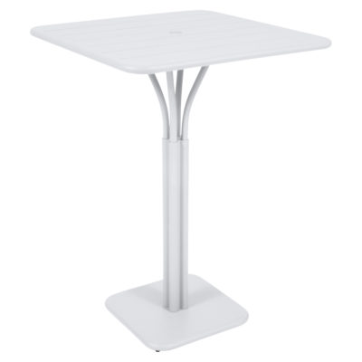 Luxembourg High Table Cotton White