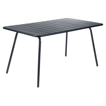 Fermob Luxembourg Table 143cm Anthracite