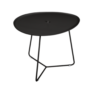 Fermob Cocotte Low Table Liquorice