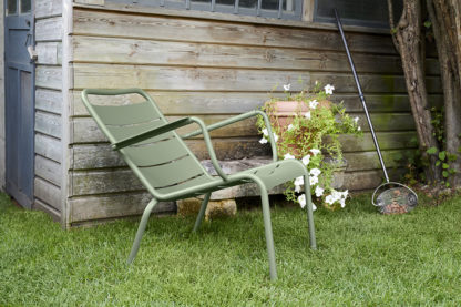 Fermob Luxembourg Low Armchair Cactus