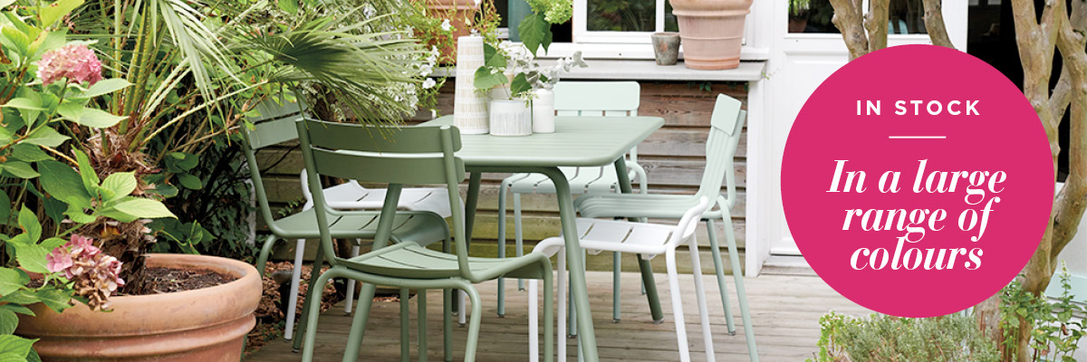 Patio & Balcony Outdoor Furniture Perth - Fermob Luxembourg Collection