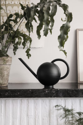 Ferm Living Orb Watering Can Black