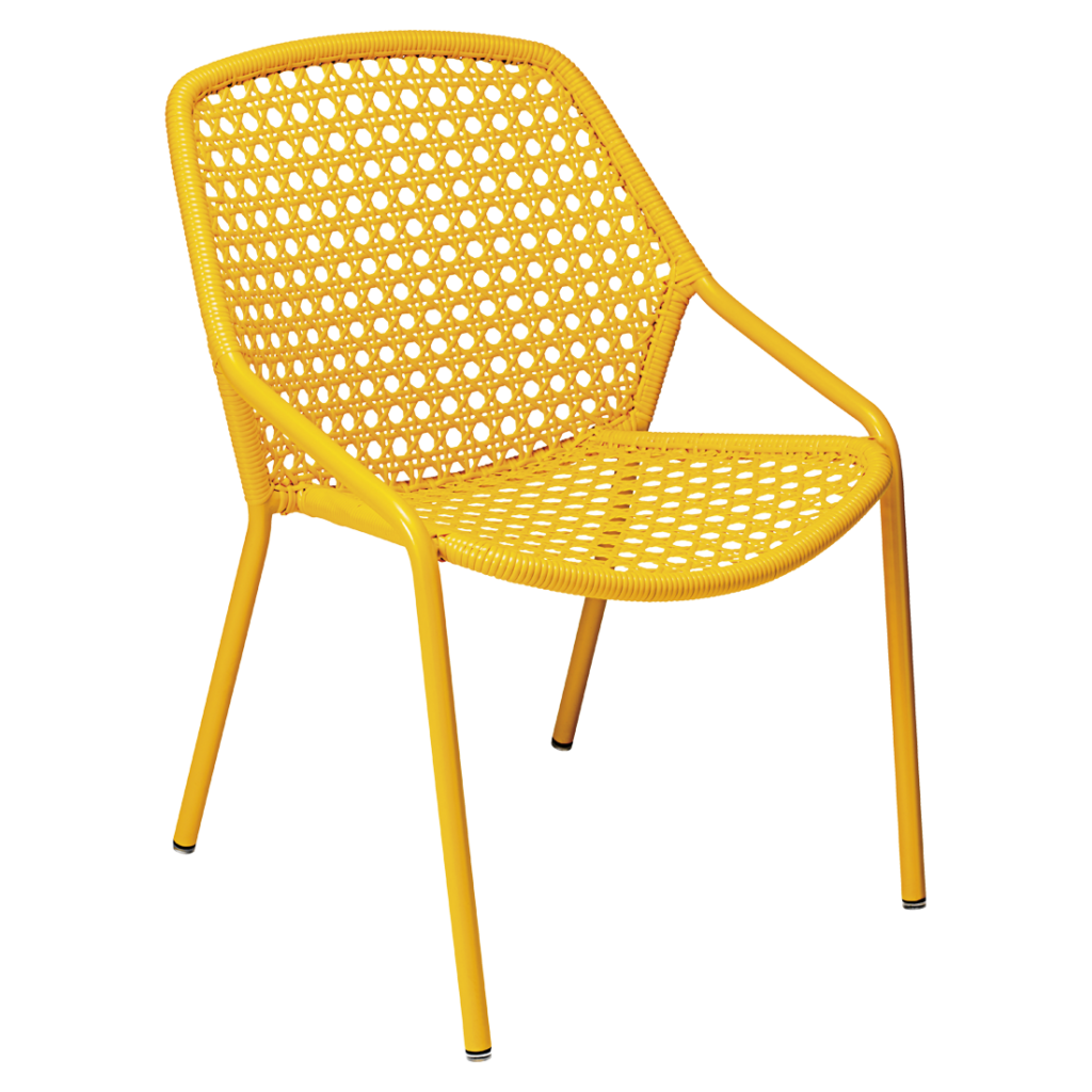 Fermob Croisette Armchair Honey