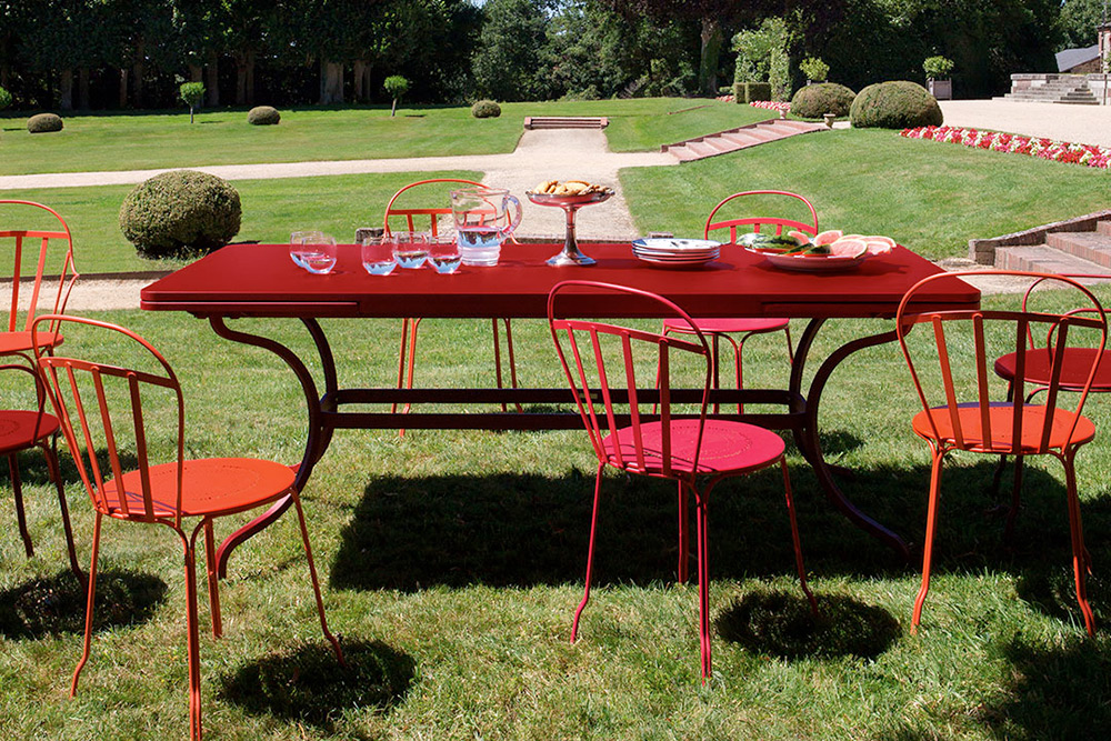 Selection of Fermob outdoor furniture